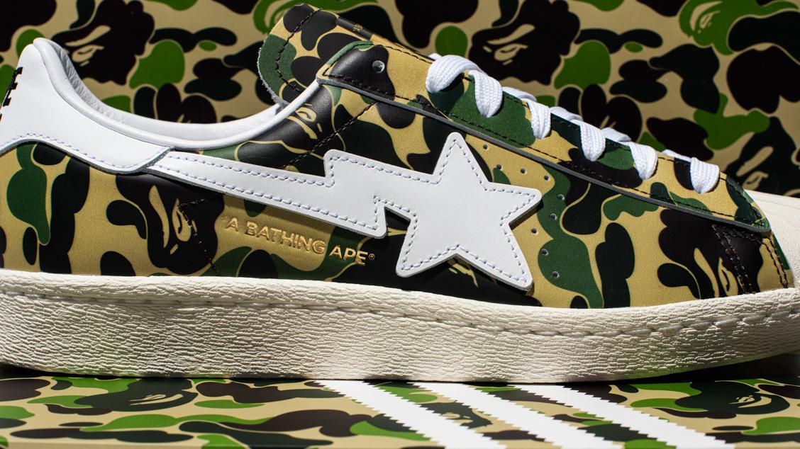 adidas Originals x BAPE Superstar 80's