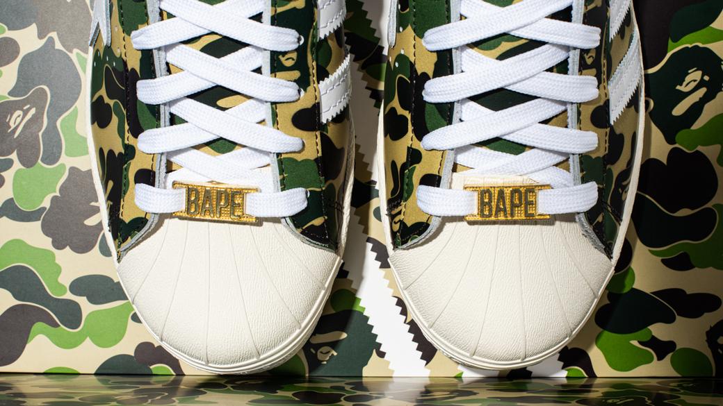 adidas Originals x BAPE Superstar 80's: к юбилею силуэта