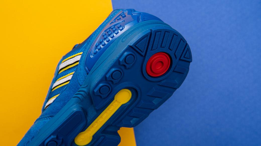 adidas Originals x LEGO ZX 8000: воображение и креативность