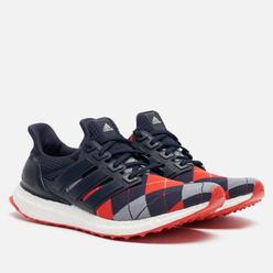 Мужские кроссовки adidas Performance x Kris Van Assche Ultra Boost Night Navy/Light Grey/Red