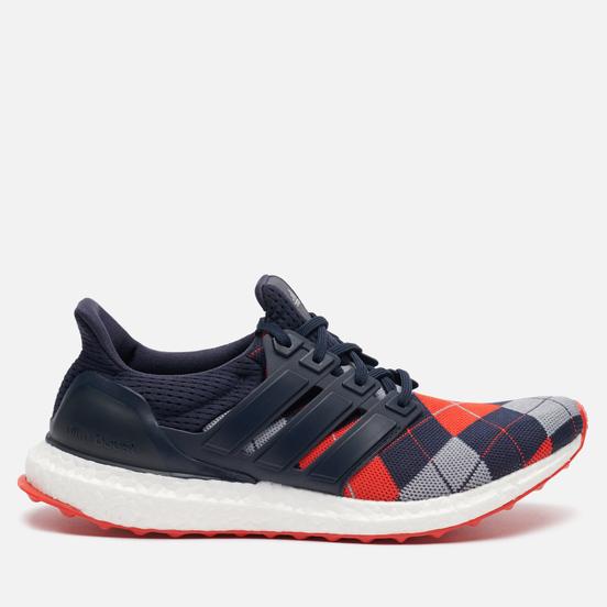 Мужские кроссовки adidas Performance x Kris Van Assche Ultra Boost Night Navy/Light Grey/Red