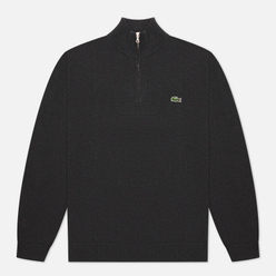 Мужской свитер Lacoste Embroidered Crocodile Half-Zip Lightning Chine