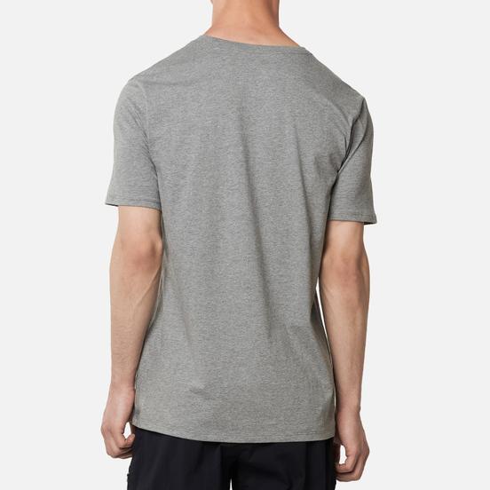 Мужская футболка Jordan Jumpman Air Embroidered Carbon Heather/White
