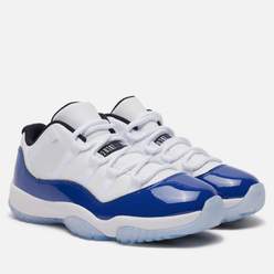 Женские кроссовки Jordan Air Jordan 11 Retro Low White/Black/Concord