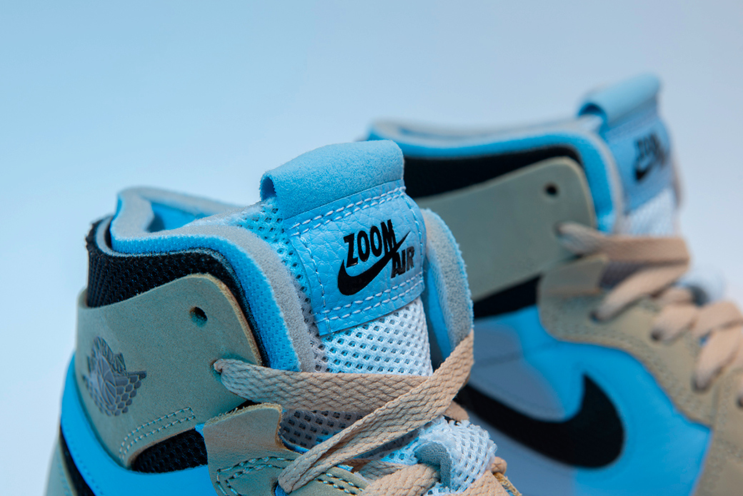 Air Jordan 1 Zoom Air CMFT Psychic Blue: в приглушенных тонах