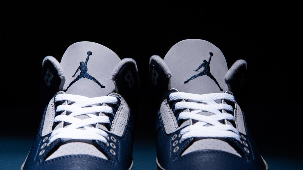 Air Jordan 3 Midnight Navy: студенческий баскетбол