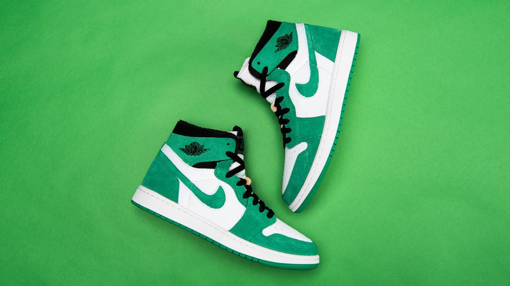 Air Jordan 1 Zoom Air Stadium Green: свежесть летних трав