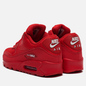 Мужские кроссовки Nike Air Max 90 Essential Triple Red University Red/White фото - 2