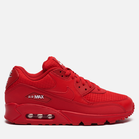 Мужские кроссовки Nike Air Max 90 Essential Triple Red University Red/White