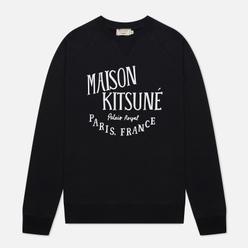 Мужская толстовка Maison Kitsune Palais Royal Classic Crew Neck Black