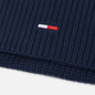 Шарф Tommy Jeans Basic Flag Rib-Knit Twilight Navy фото - 1