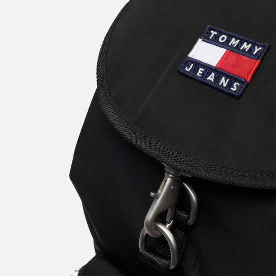 Рюкзак Tommy Jeans Heritage Flap Black