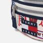 Сумка на пояс Tommy Jeans Heritage Print Canvas Logo Print/White фото - 3