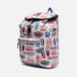 Рюкзак Tommy Jeans Heritage Flap Print Logo Print/White фото - 1