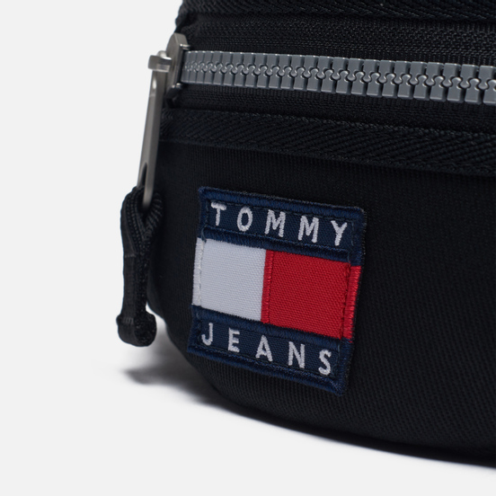 Сумка на пояс Tommy Jeans Heritage Bumbag Black