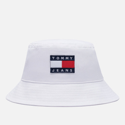Панама Tommy Jeans Organic Cotton Heritage White