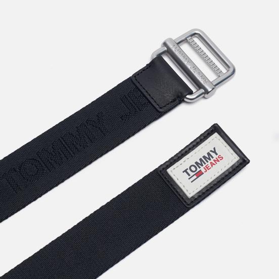 Ремень Tommy Jeans Essential Tonal Logo Webbing 3.5 Black