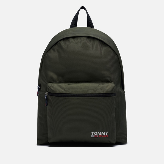 Рюкзак Tommy Jeans Campus Logo Dark Olive