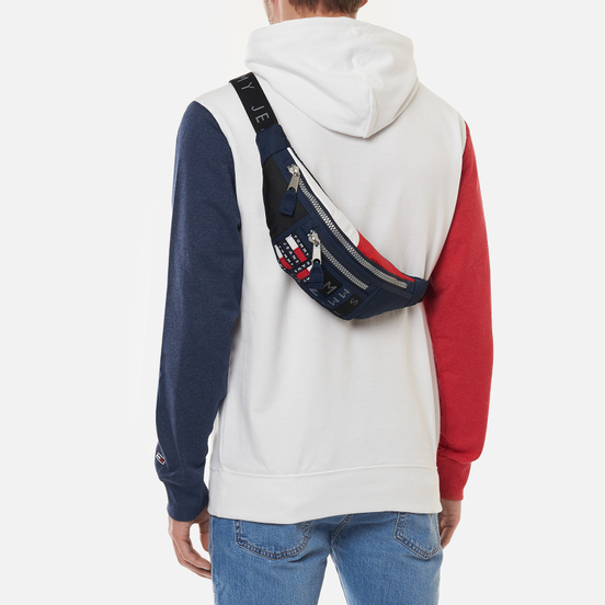 Сумка на пояс Tommy Jeans Tommy Badge Colour-Blocked Corporate