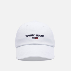 Кепка Tommy Jeans Logo Embroidery Baseball White