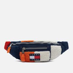 Сумка на пояс Tommy Jeans Heritage Colorblock Sherpa Bumbag Color Block