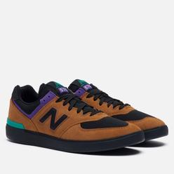 Мужские кроссовки New Balance AM574MUP Brown/Black/Black