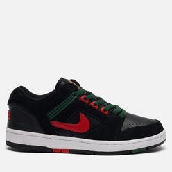 Мужские кроссовки Nike SB Air Force II Low Deep Forest Black/Gym Red/Deep Forest