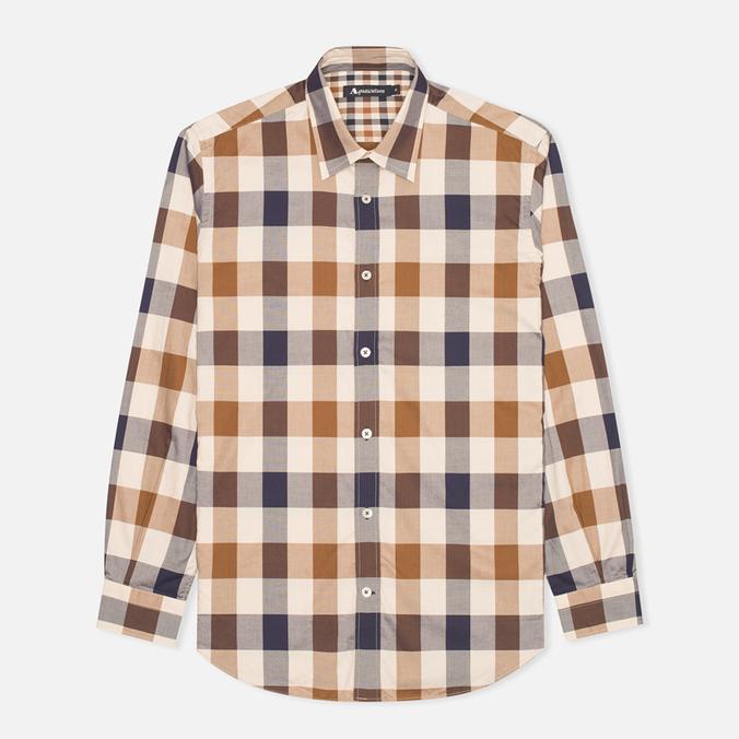 Мужская рубашка Aquascutum Scaled Check Vicuna