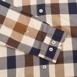 Мужская рубашка Aquascutum Scaled Check Vicuna фото- 2