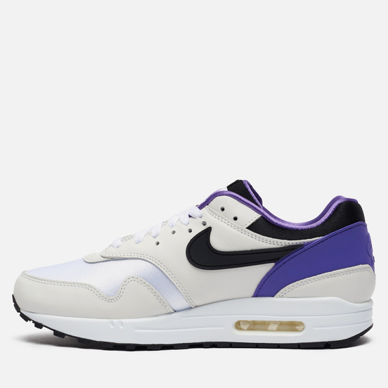 Кроссовки Nike Air Max 1 DNA CH.1 Pack White/Black/Purple Punch
