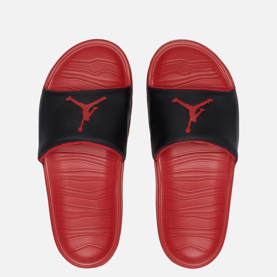 Мужские сланцы Jordan Break Black/Gym Red