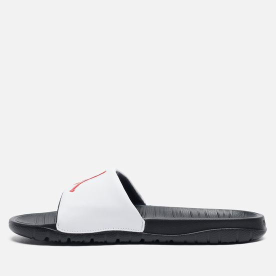 Мужские сланцы Jordan Break Black/University Red/White