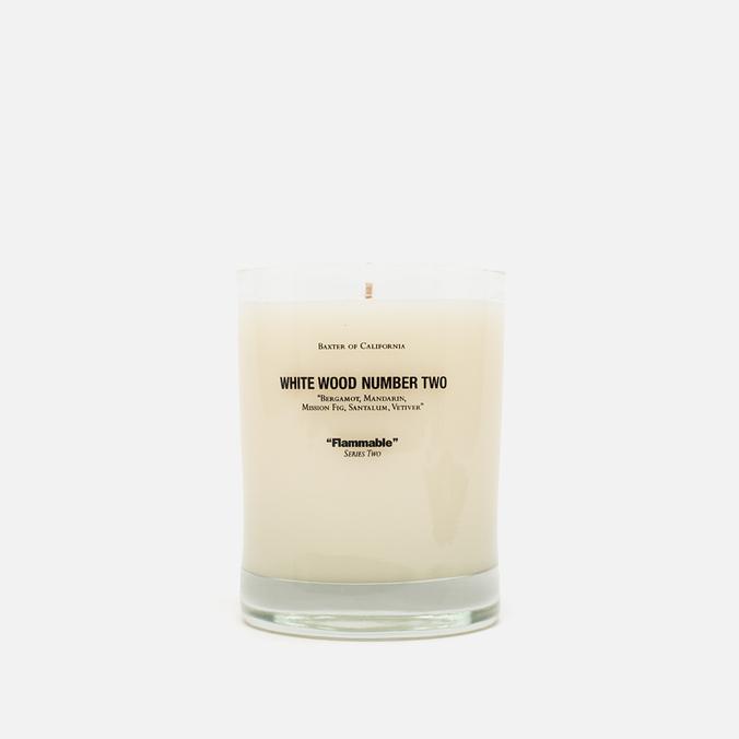 Ароматическая свеча Baxter of California White Wood 2
