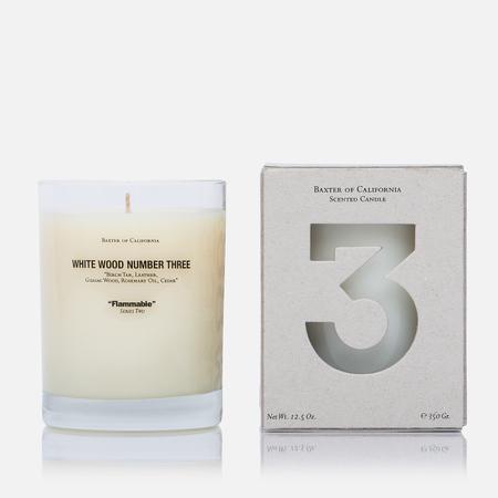 Ароматическая свеча Baxter of California White Wood 3
