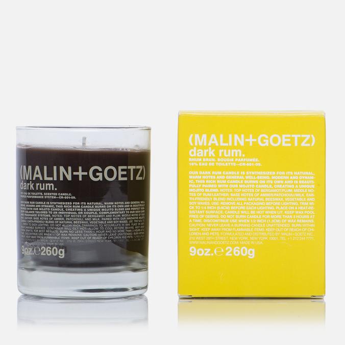 Ароматическая свеча Malin+Goetz Dark Rum 260g