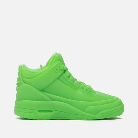 Ароматическая свеча What The Shape Air Jordan III Green