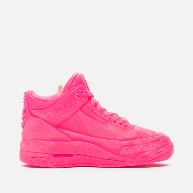 Ароматическая свеча What The Shape Air Jordan III Pink