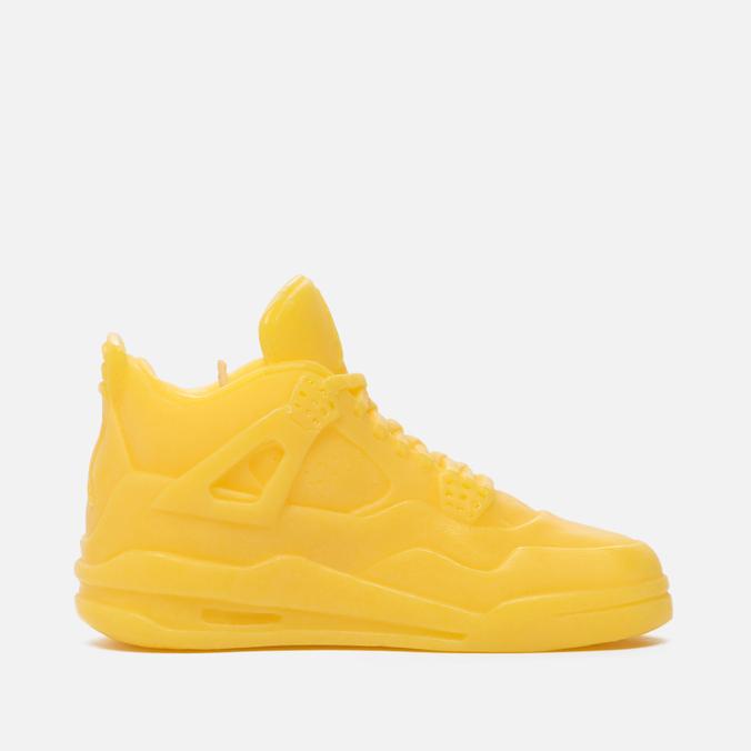 Ароматическая свеча What The Shape Air Jordan IV Yellow