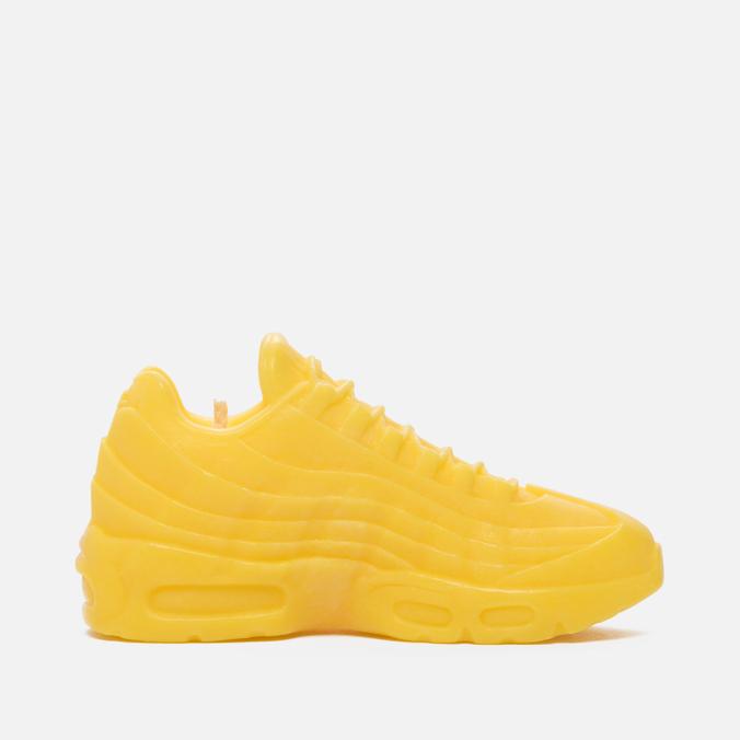Ароматическая свеча What The Shape Air Max 95 Yellow