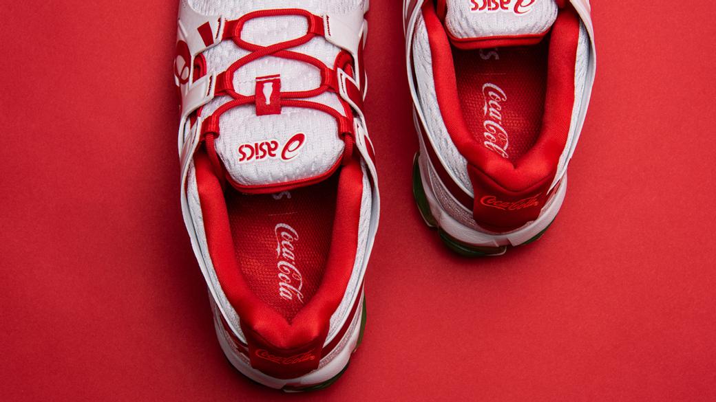 ASICS x Coca-Cola GEL-Quantum 90 Tokyo: праздник к нам приходит