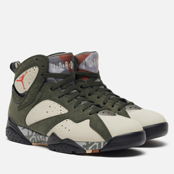 Мужские кроссовки Jordan x Patta Air Jordan 7 Retro Icicle/Light Crimson/Sequoia/River Rock