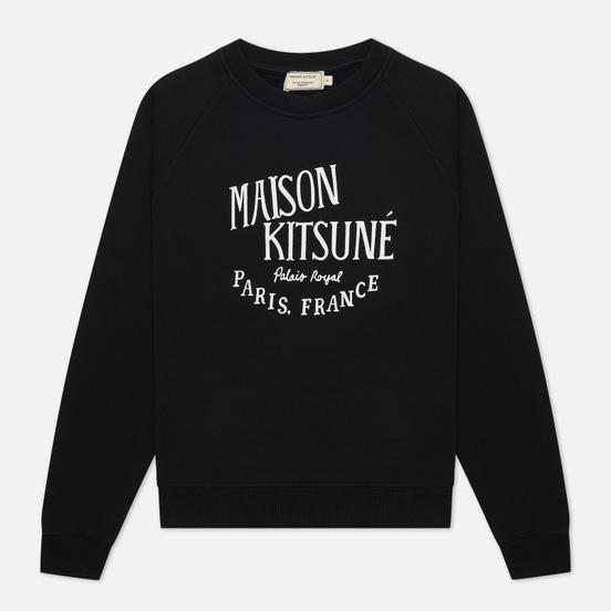 Женская толстовка Maison Kitsune Palais Royal Vintage Black