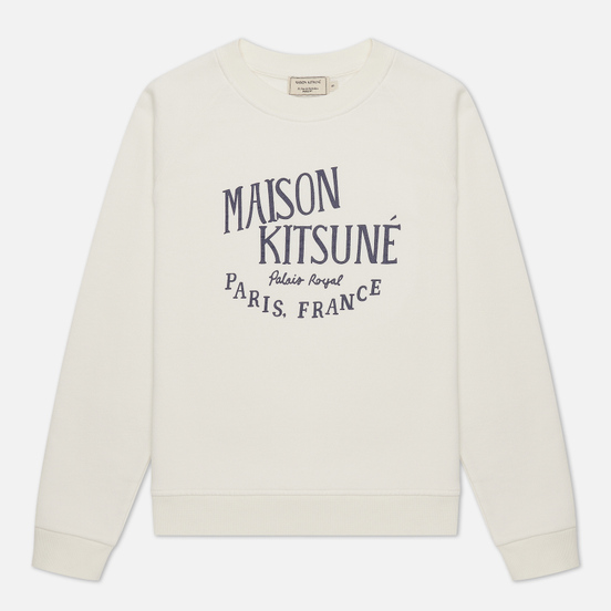 Женская толстовка Maison Kitsune Palais Royal Vintage Ecru