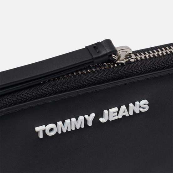 Кошелек Tommy Jeans Logo Zip-Around Large Black