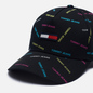 Кепка Tommy Jeans Flag Black All Over Print фото - 2