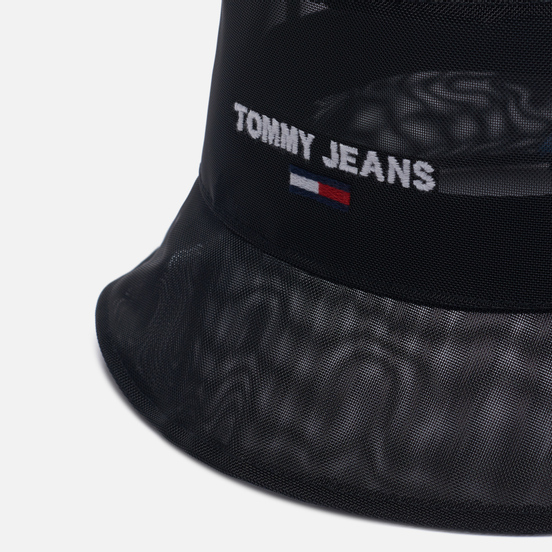Панама Tommy Jeans Logo Embroidery Mesh Black