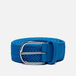 Ремень Anderson's Classic Plain Elastic Woven Blue