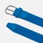 Ремень Anderson's Classic Plain Elastic Woven Blue фото - 1