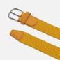 Ремень Anderson's Classic Plain Elastic Woven Yellow фото - 1