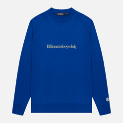 Мужская толстовка Billionaire Boys Club Embroidered Logo Crewneck Blue